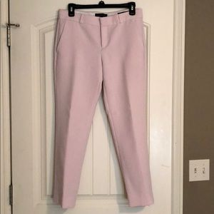 Banana Republic Avery Pink Ankle Pants